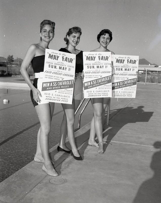 Women Advertising May Fair