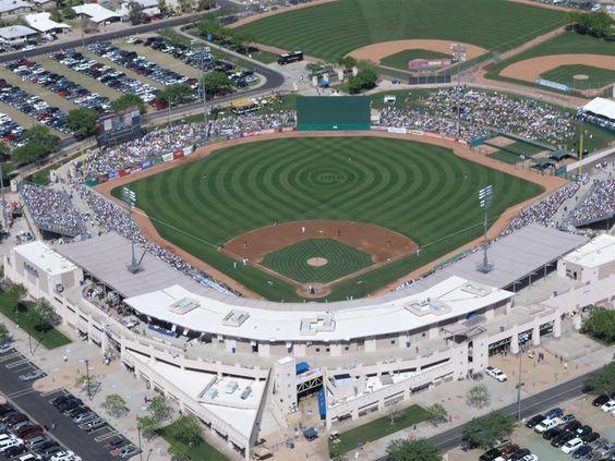 Aerial View of Hohokam Park